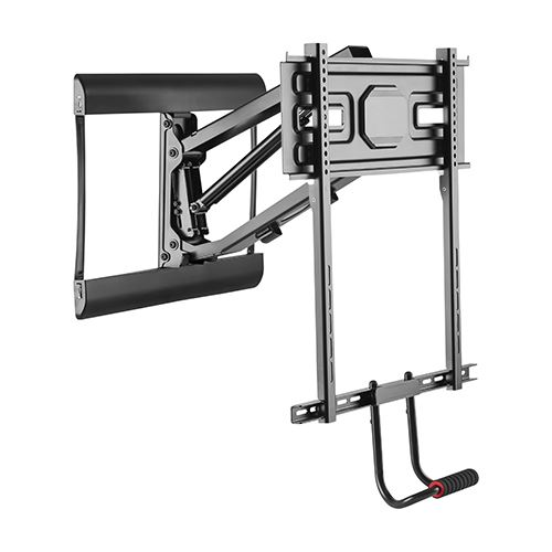 "309085BK - Above Fireplace Mantel Pull-Down Full-Motion TV Wall Mount - 42""-70"" Screens"