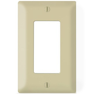 102146-IV - Decora Trim Ring Wall Plate - Single Gang - Ivory