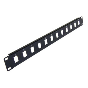 103012 - 12-Port Blank Keystone Patch Panel