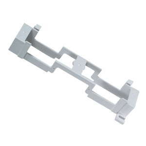 104201-B - 89B Bracket for 66 Block, 50 Pair - White