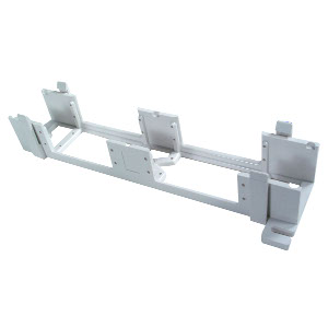 104201 - 89D (Standard) Bracket for 66 Block, 50 Pair - White