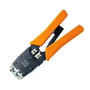 "109138 - 7.5"" Modular Networking Crimp Tool for RJ11, RJ12, and RJ45"
