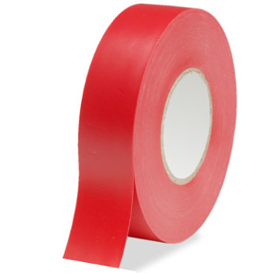 109205RD - Electrical Tape - 3/4in x 66ft - Red