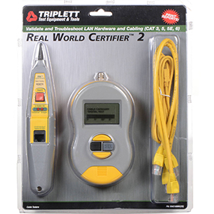 109395 - Real World Certifier 2 Cable Category Tester with Probe - (RWC1000KCS)