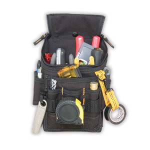 109523 - Custom LeatherCraft (CLC) - Medium Ziptop Utility Pouch