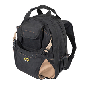 109562 - Custom LeatherCraft (CLC) - 44 Pocket Deluxe Tool Backpack
