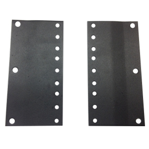 "120002-3U - 23"" to 19"" Rack Reducer Adapter Brackets - 3U"