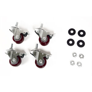 120003C-4P - Caster Kit for 2 or 4-Post Racks
