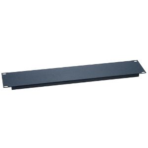 "120155 - 19"" Rack Mount Solid Steel Blank Panel Filler - 1U"