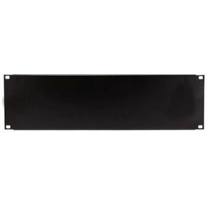 "120158-3U - 19"" Rack Mount Solid Steel Blank Panel Filler - 3U"