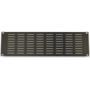 "120158-3V - 19"" Rack Mount Vented Steel Blank Panel Filler - 3U"