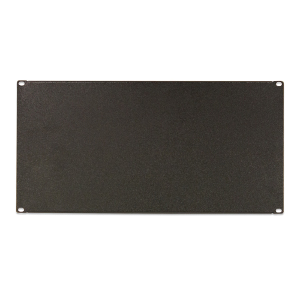 "120158-4U - 19"" Rack Mount Solid Steel Blank Panel Filler - 4U"