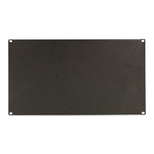 "120158-6U - 19"" Rack Mount Solid Steel Blank Panel Filler - 6U"
