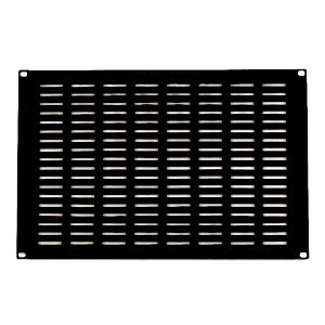 "120158-6V - 19"" Rack Mount Vented Steel Blank Panel Filler - 6U"