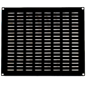 "120158-8V - 19"" Rack Mount Vented Steel Blank Panel Filler - 8U"