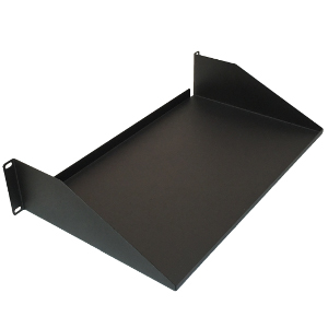 "120162 - 19"" Solid Utility Rack Shelf (1.5mm) - 10"" Depth - 2U (3.5"")"