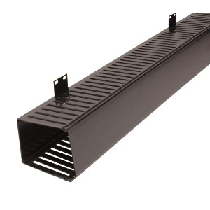 "120206 - Vertical Slotted Duct - Single Sided - 83""H x 5""W x 4""D"
