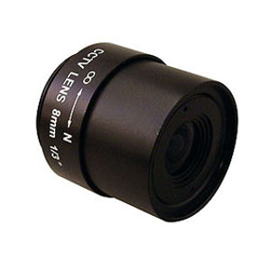 "245838 - CS Mount Camera Lens - Fixed IRIS - Fixed Focal - 1/3"", 8mm, F1.6"
