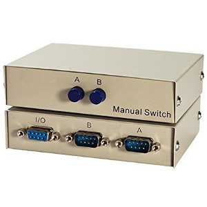 250506 - 2-Port DB9 RS232 Serial Switch