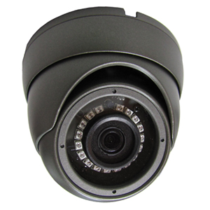 2DVTV200BK - HD-TVI IR Dome Camera - Indoor/Outdoor - Vandal Proof - Sony - 1080P - 3.6mm Lens -  Black