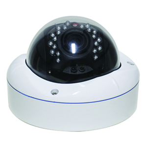 2IPDV6228 - IP Infrared Dome Camera - Outdoor - Vandal Proof - Sony - 1024P - 2.8-12mm Varifocal Lens