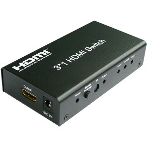 301035 - 3x1 HDMI Switch with IR Remote