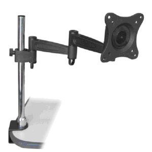 "309000BK - Desktop Clamp Articulating TV/Monitor Mount: 13""-27"" Screens"