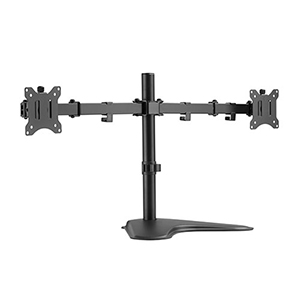 "309006BK - Dual Monitor Articulating Desktop Stand: 17""-32"" Screens"