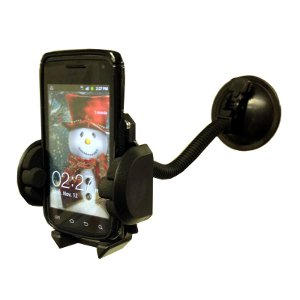 309238 - Car Windshield Gooseneck Mount for Cell Phones