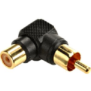 503452 - RCA 90 degree Adapter - Female to Male