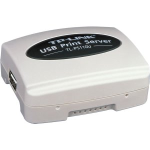 TL-PS110U - TP-LINK - Single USB 2.0 Port Fast Ethernet Print Server