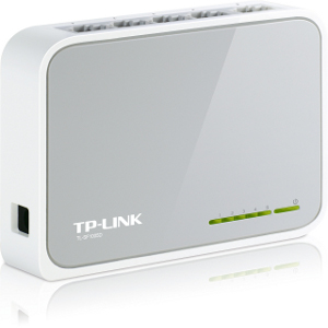 TL-SF1005D - TP-LINK - 5-port Unmanaged Fast Ethernet Desktop Switch
