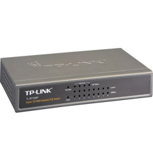 TL-SF1008P - TP-LINK - 8-port Fast Ethernet Desktop PoE Switch
