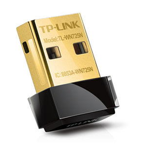 TL-WN725N - TP-LINK - 150Mbps Wireless N Nano USB Adapter