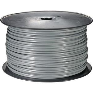 106112SL - Flat Telephone Wire, 28/4, Silver - 1000ft